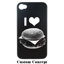 Coque de protection iPhone 4/4S en aluminium noir