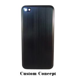 Dos de remplacement pour iPhone 4/4S aluminium noir