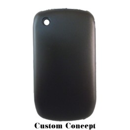 Coque de protection BlackBerry Curve 8520/9300 aluminium noir